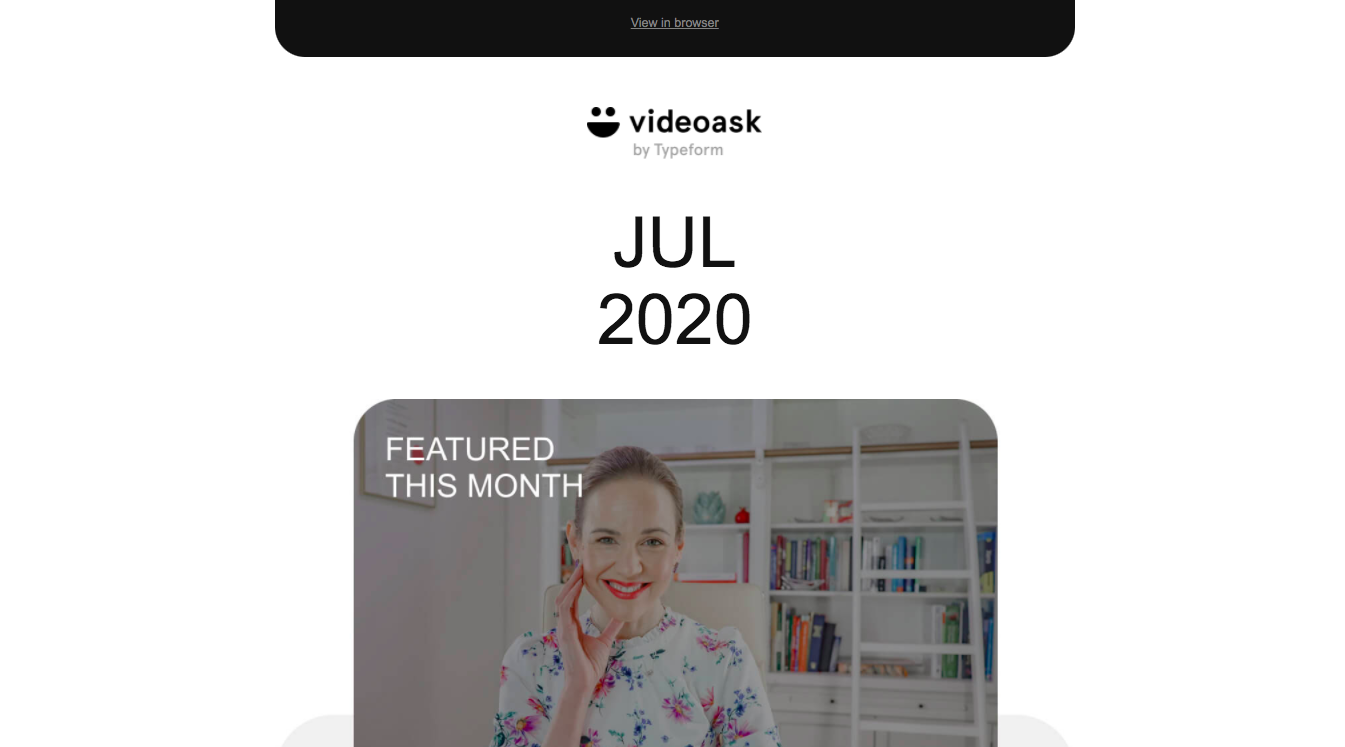 VideoAsk Newsletters