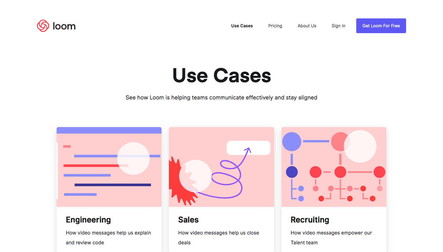 Loom Use Cases