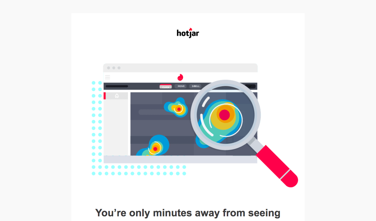 Hotjar Welcome Email