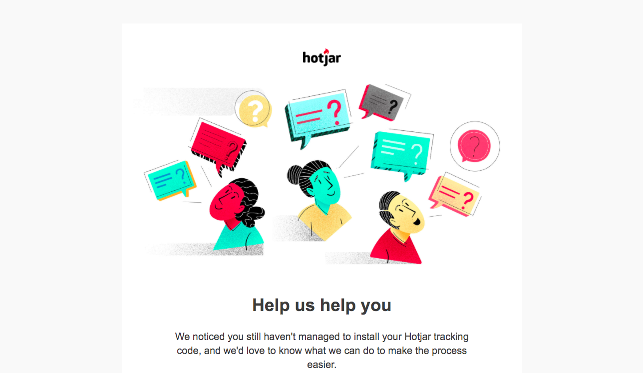 Hotjar Survey Emails