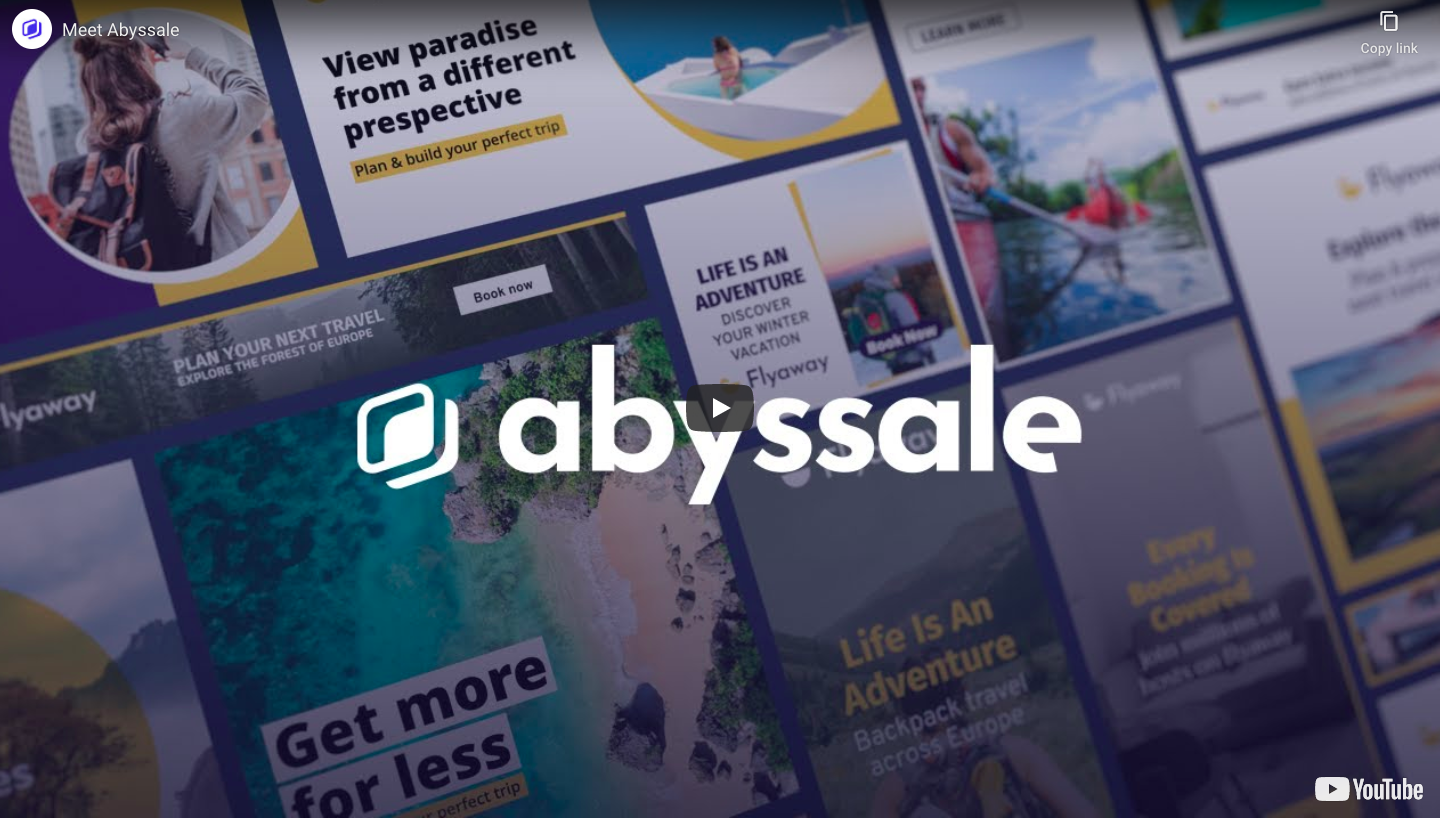 Abyssale Product Video