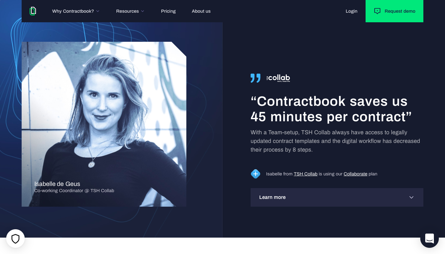 Contractbook Customer Stories