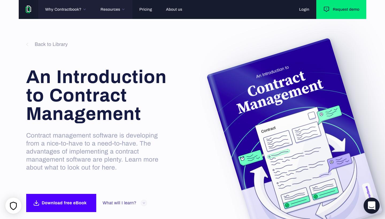 Contractbook eBook Page