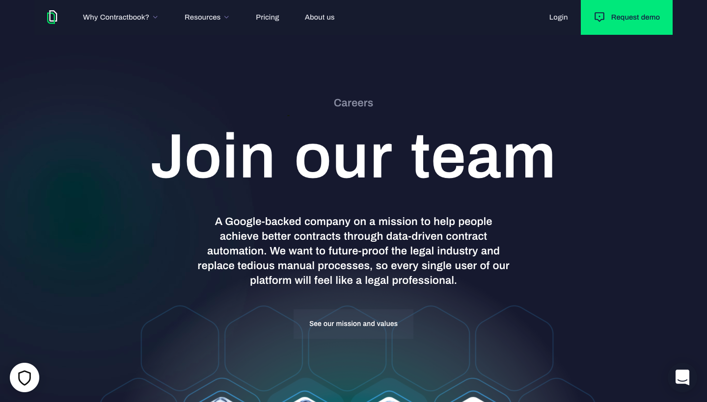 Contractbook Careers Page