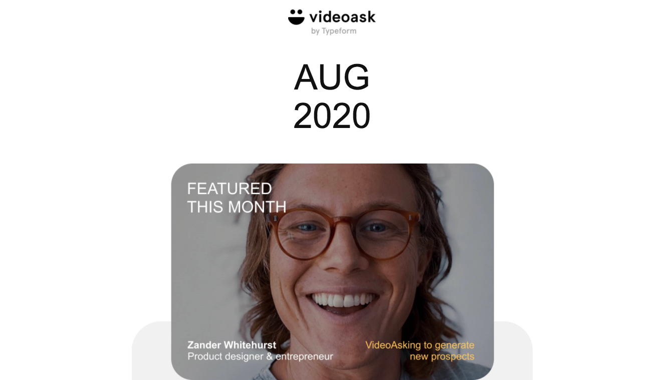 VideoAsk Product Updates
