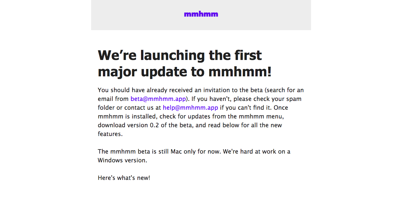 Mmhmm Product Updates