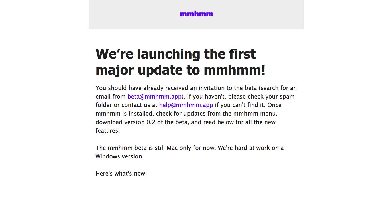 Mmhmm Product Updates