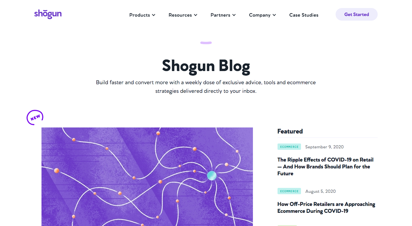 Shogun Blog Feed