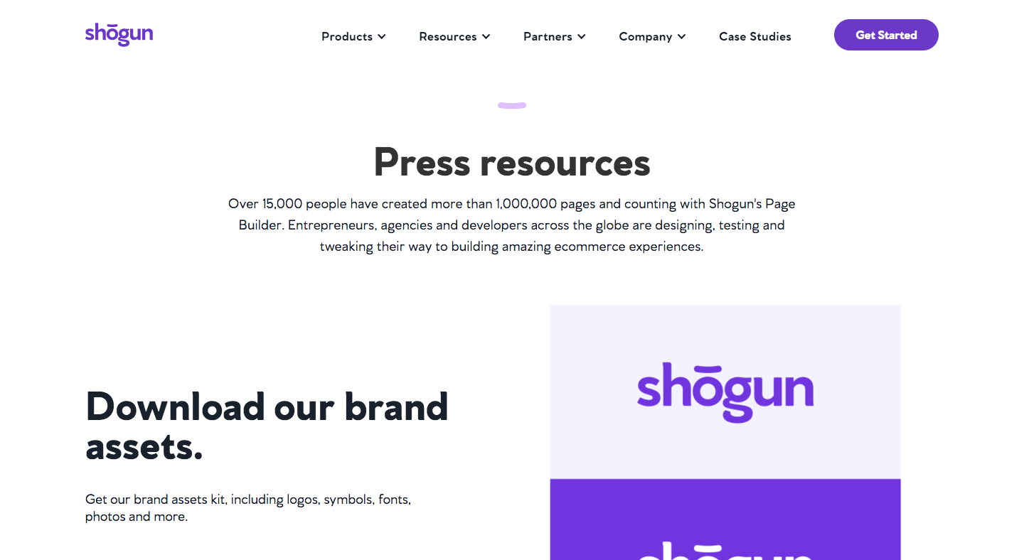 Shogun Press Page