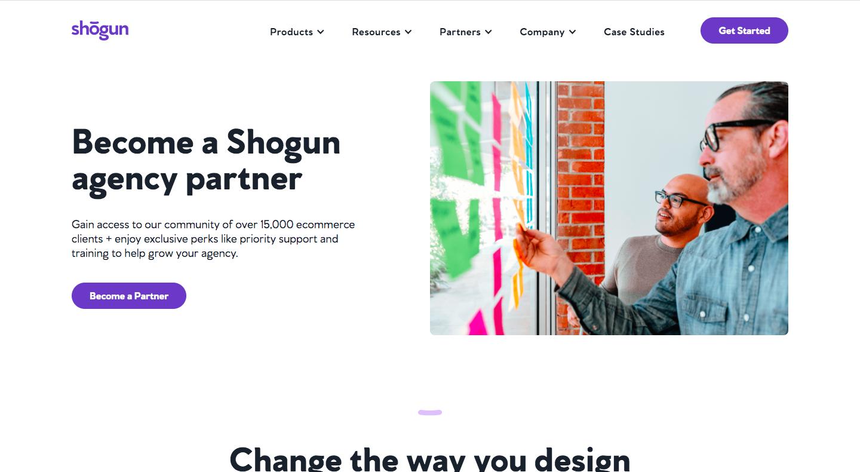 Shogun Affiliate Page