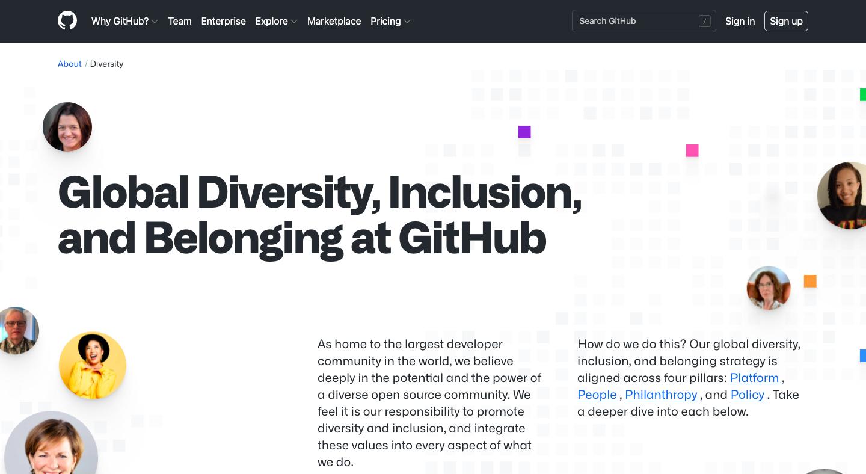 GitHub Impact Page
