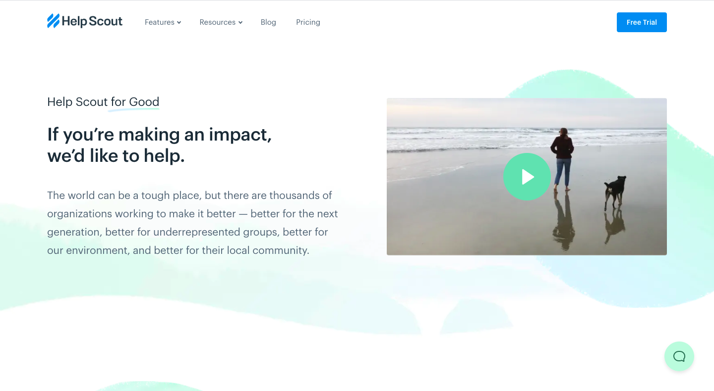 Help Scout Impact Page