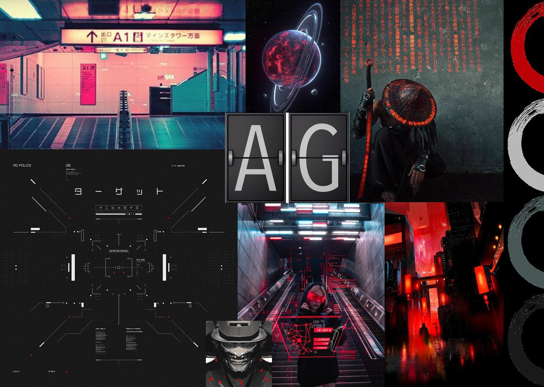 Concept B: Cyberpunk Asia