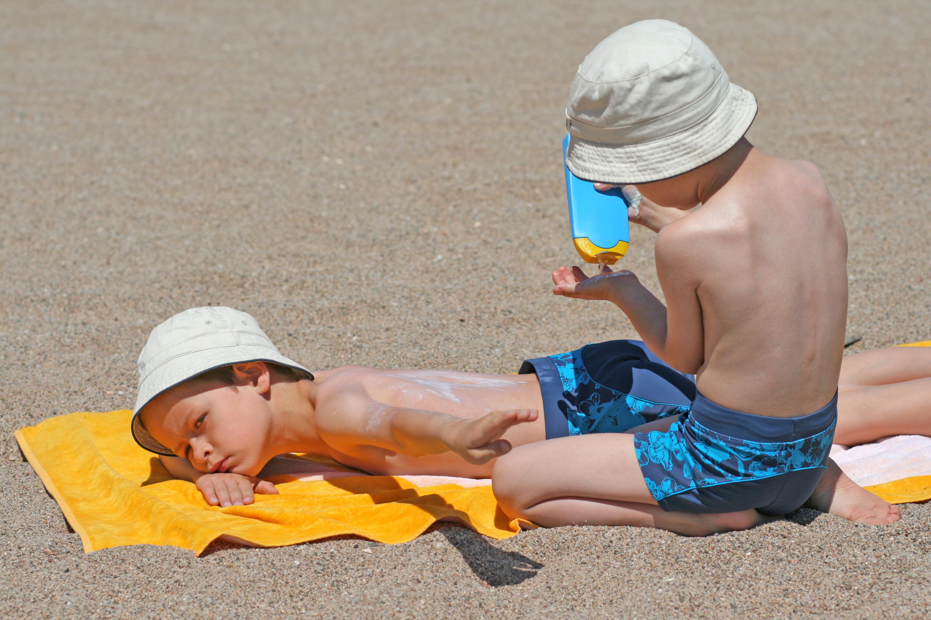 Children and skin checks