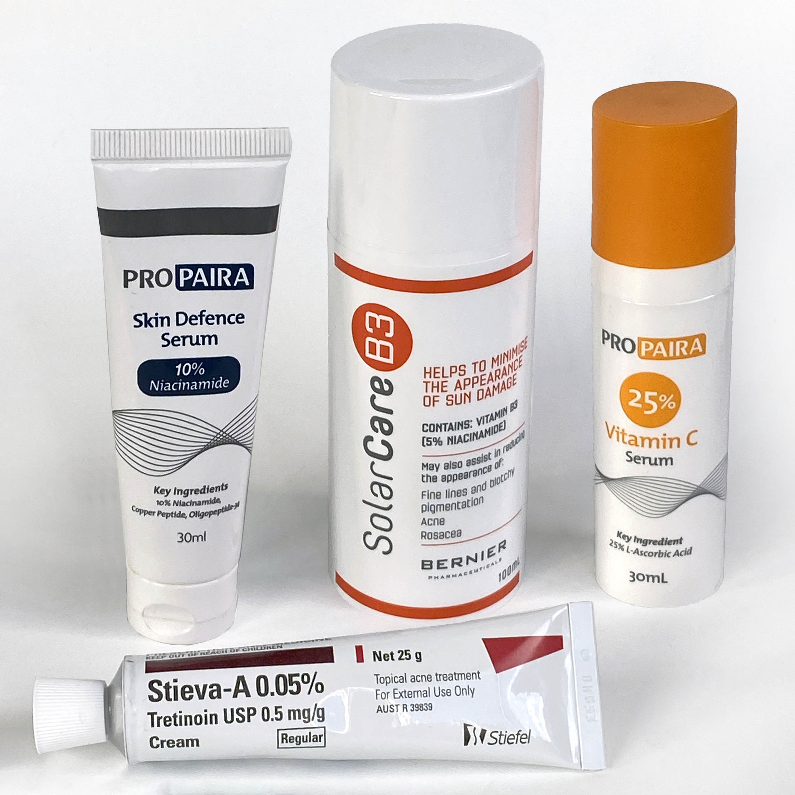 Topical medications for sun-damaged skin