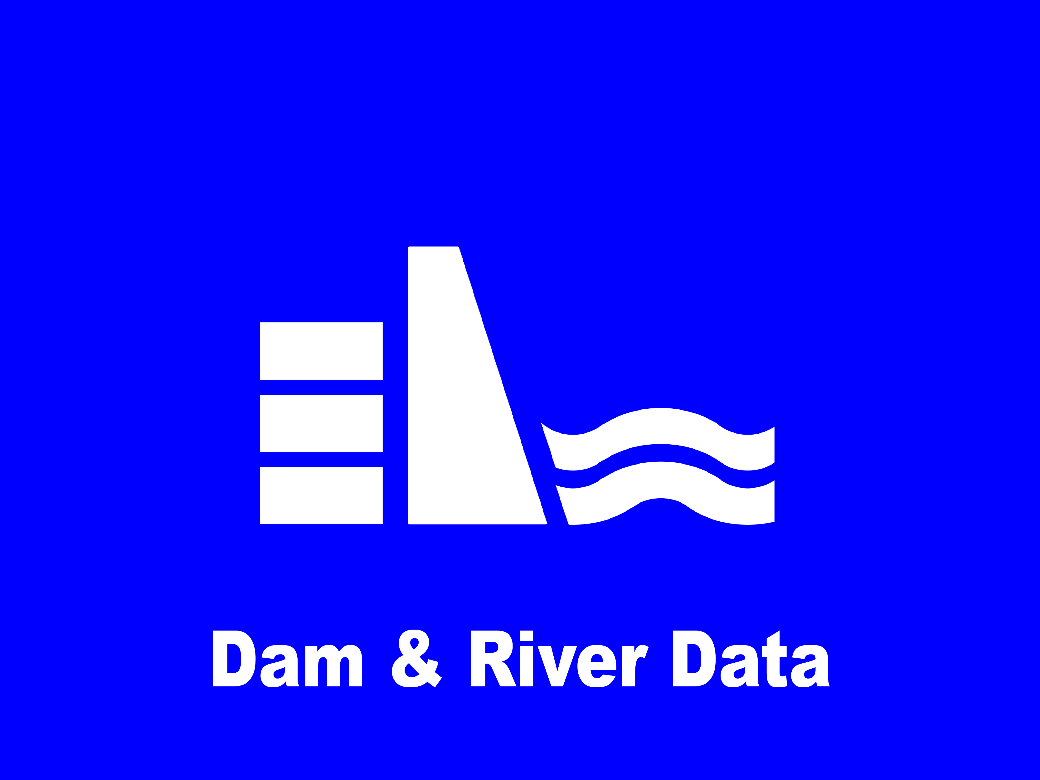 Dam & River Data Icon
