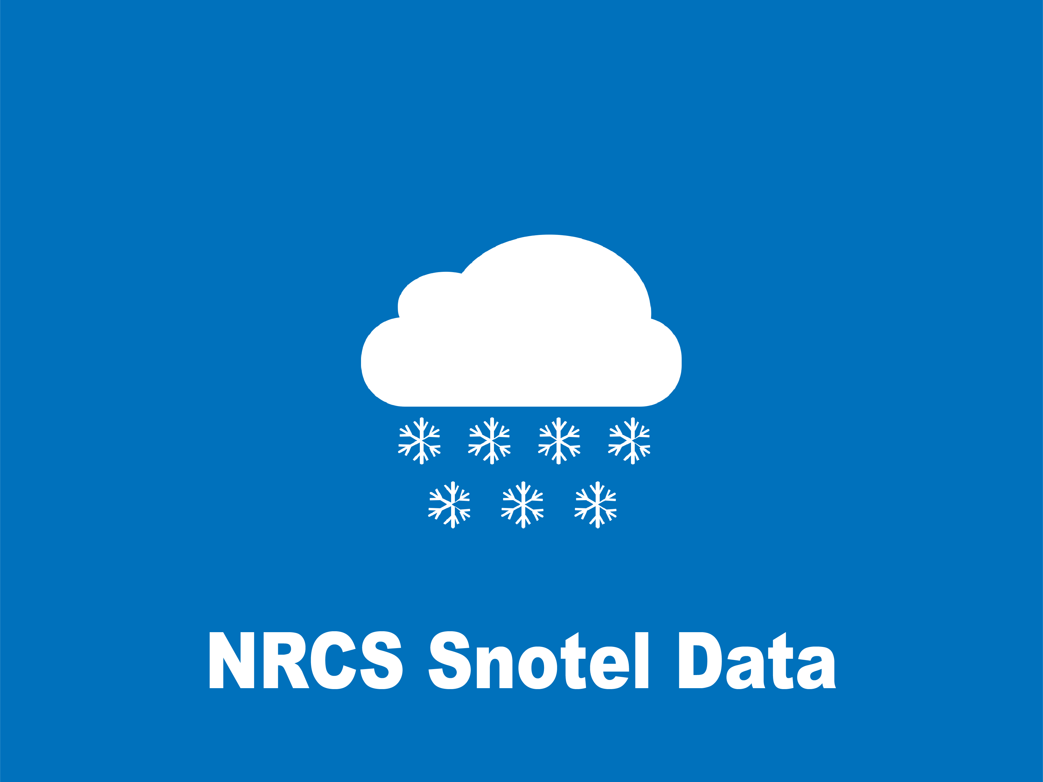 NRCS Snotel Data Icon