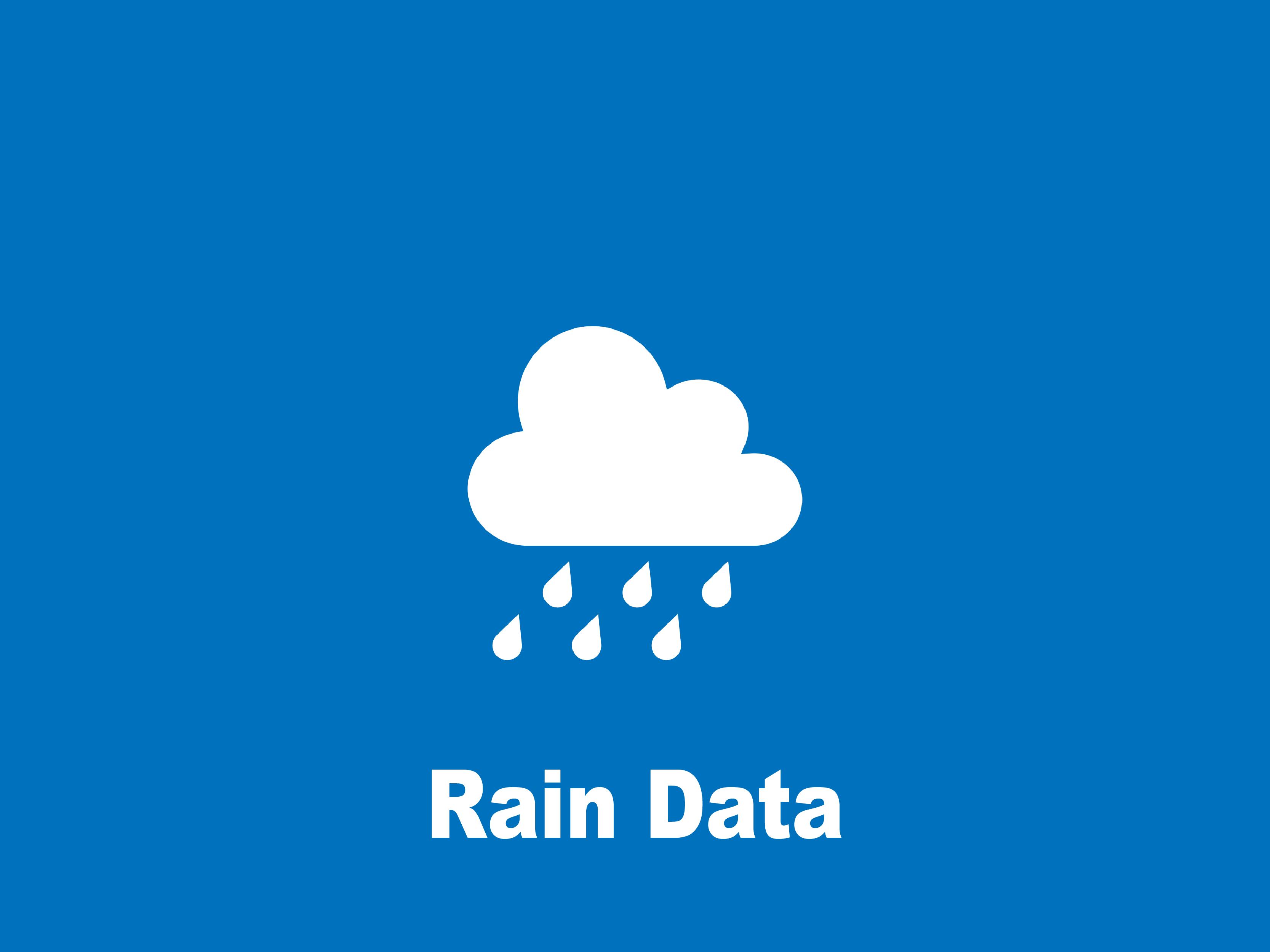Rain Data Icon