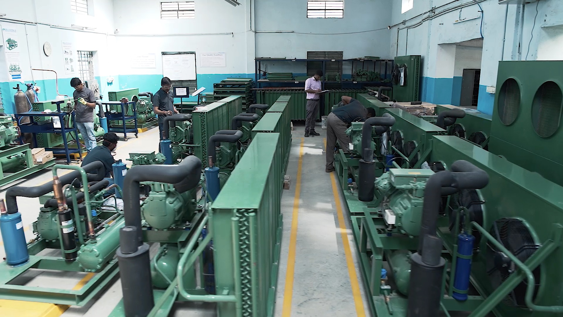 Bluecold factory