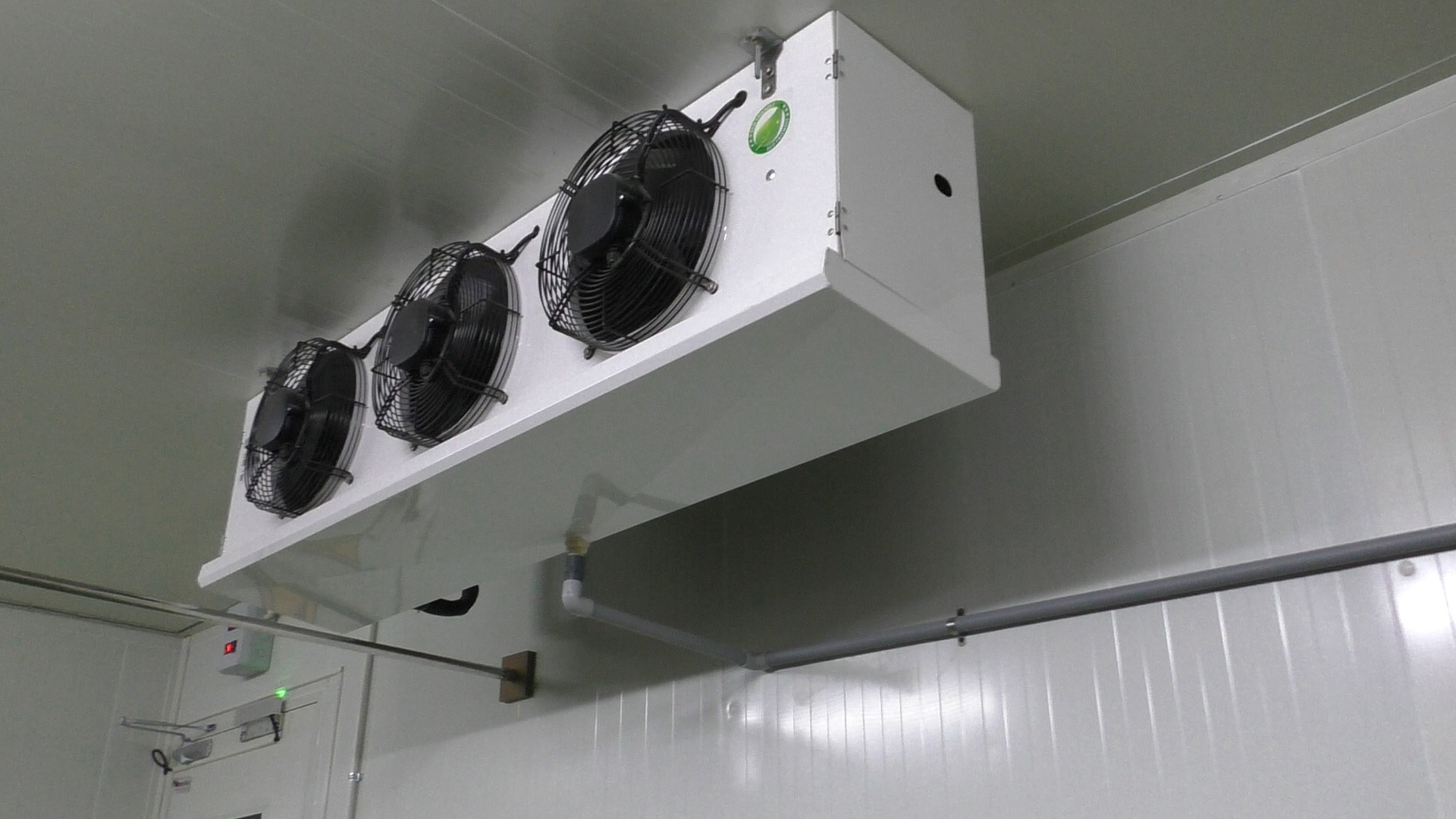 cooling unit for banana ripening chamber
