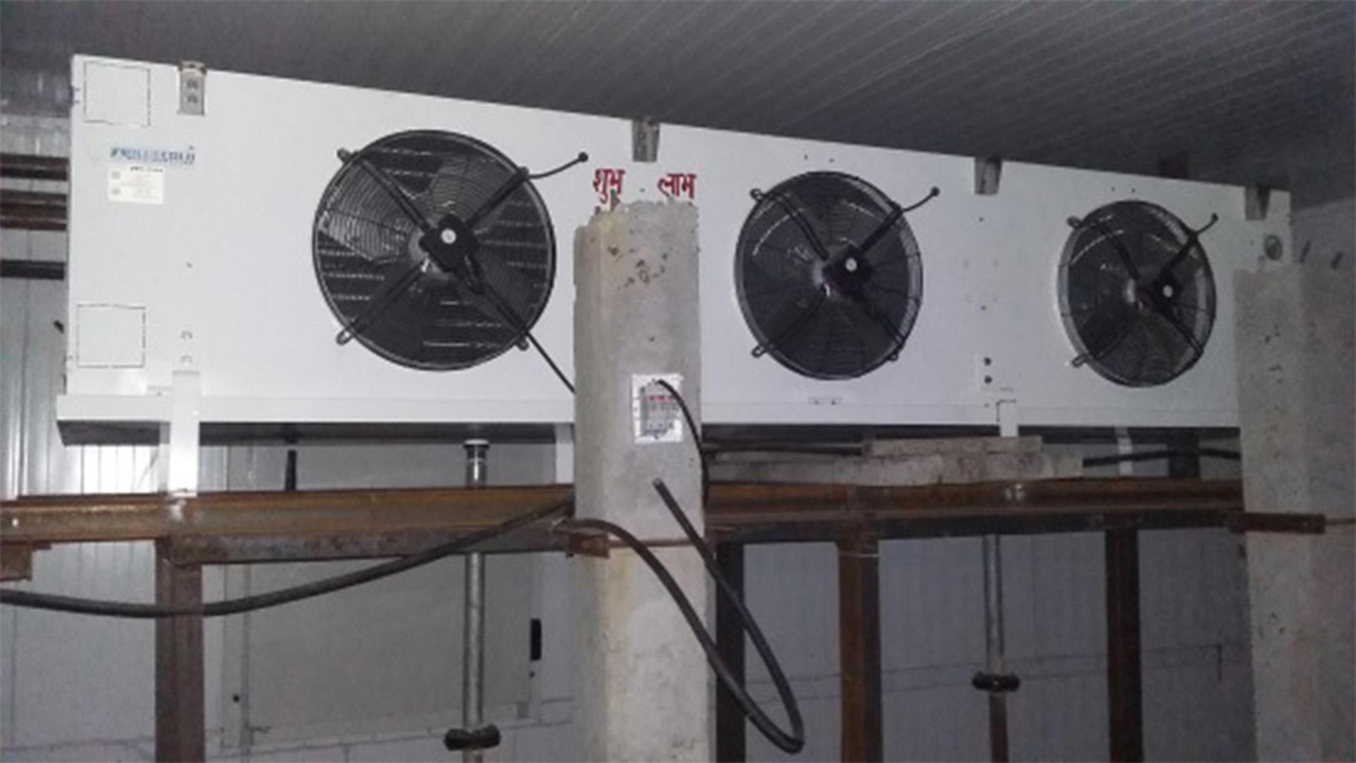 cold storage unit for potato
