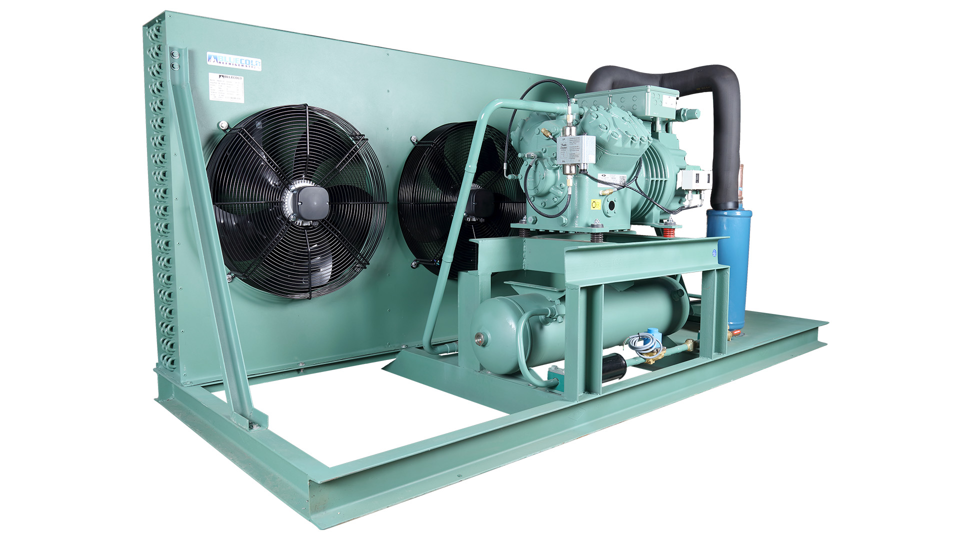 Condensing unit for cold room, blast freezer & freezer room