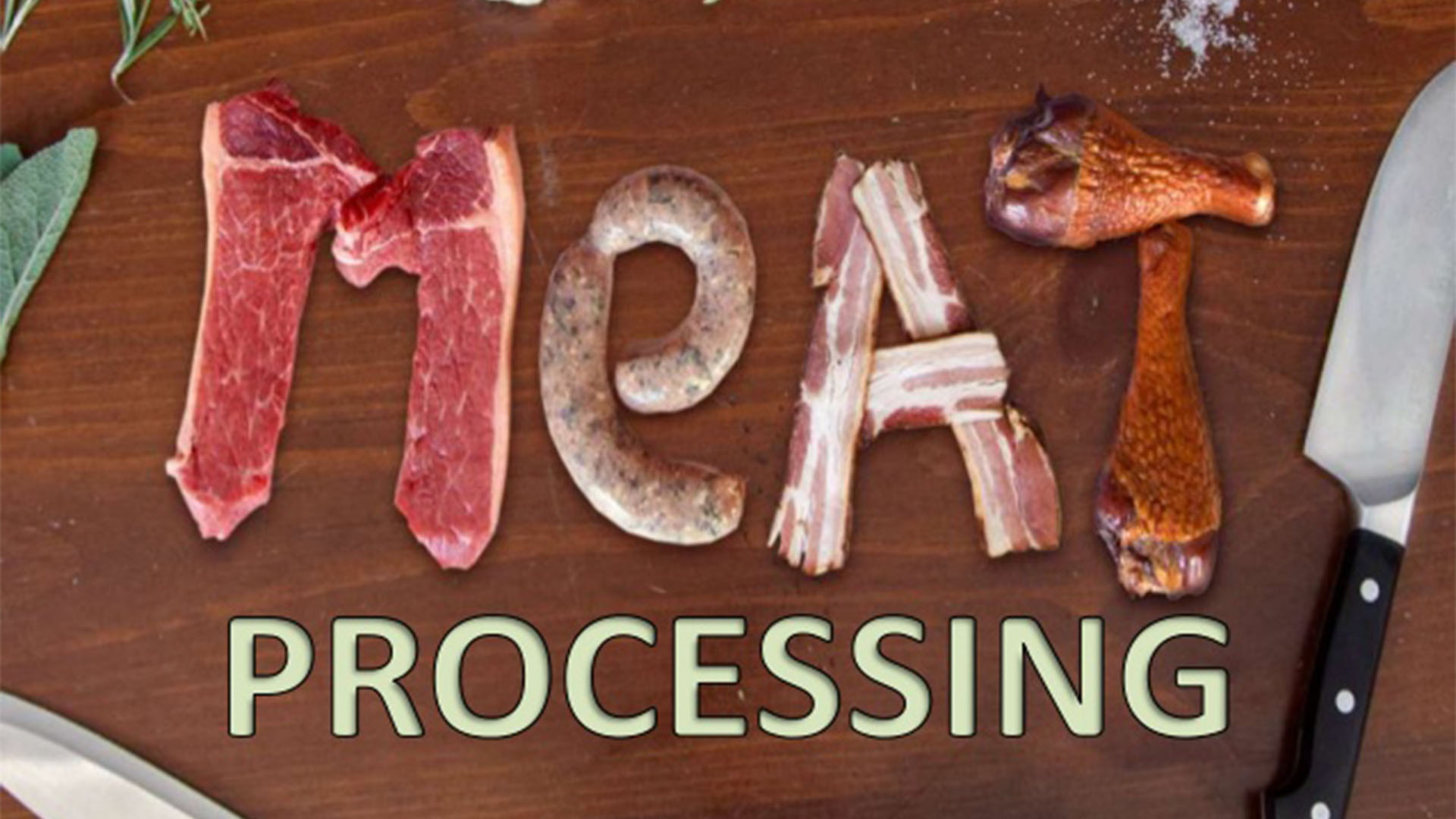 Meat Processing & Storage