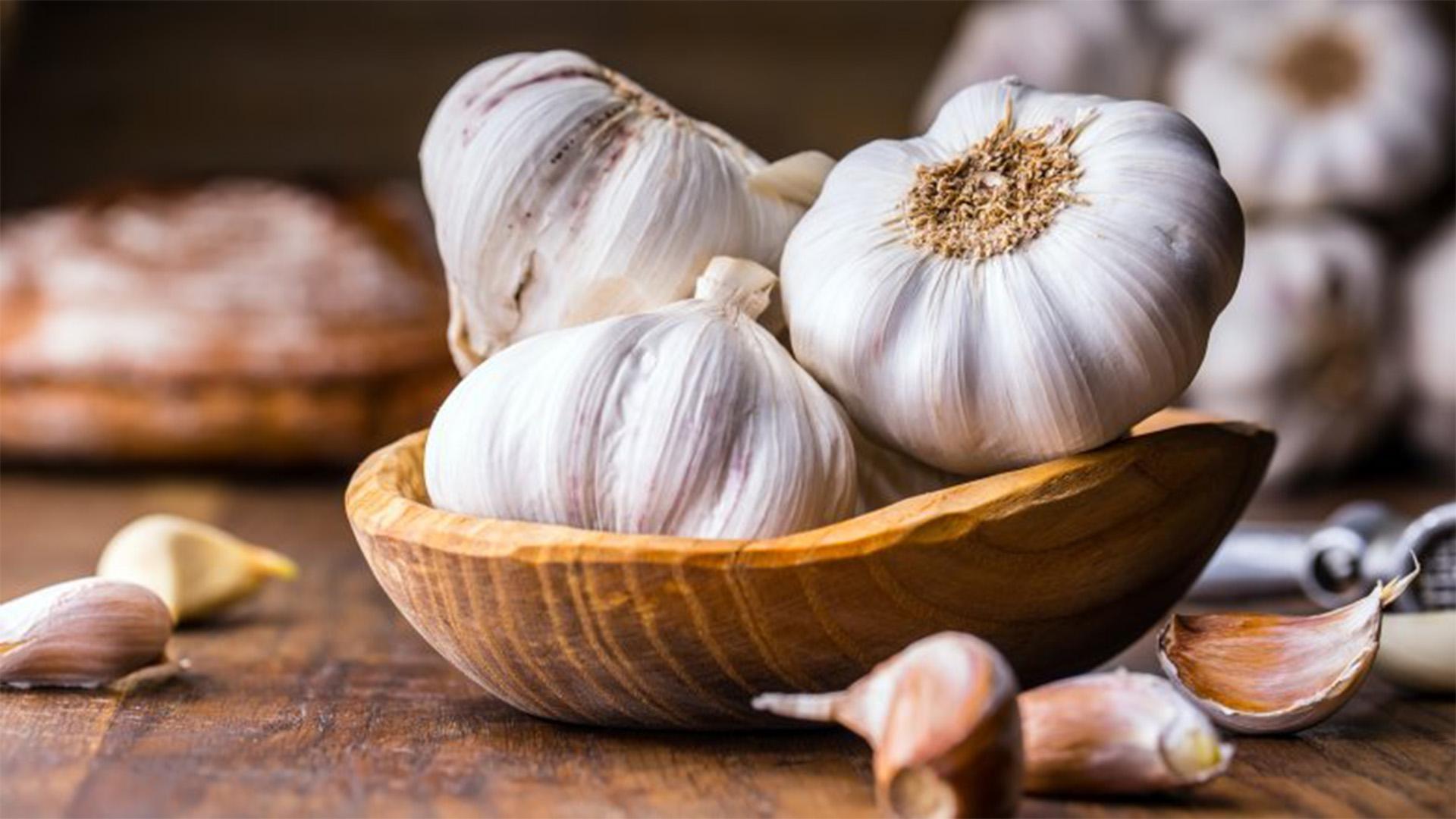 Garlic Storage