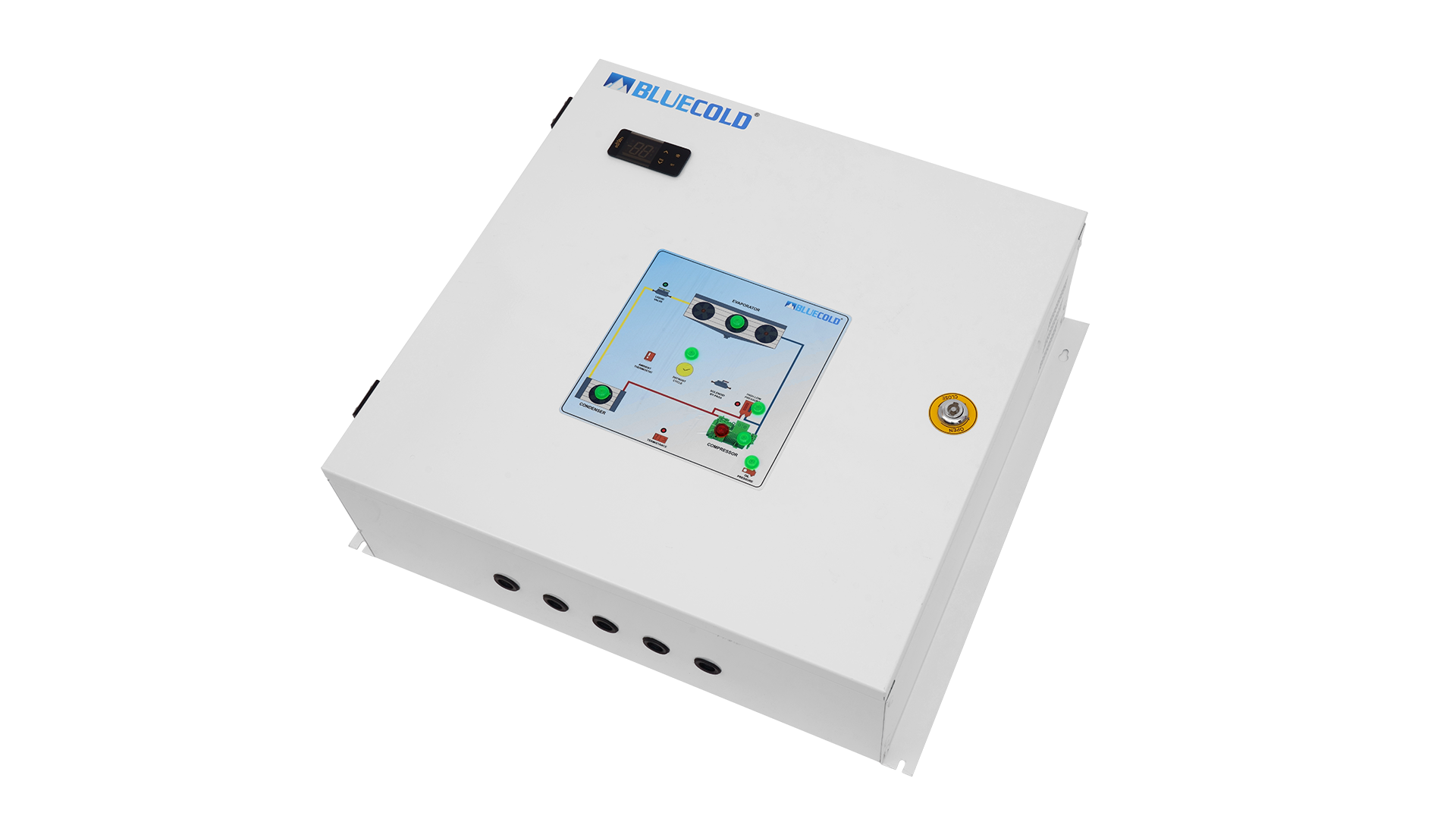 Control System for cold room, cold storage and blast freezer