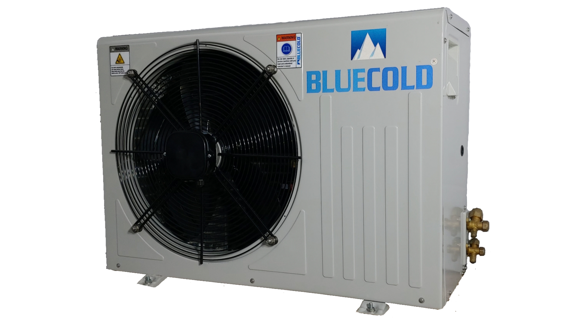 Blue Cold single fan cold room out door unit with Emerson compressor