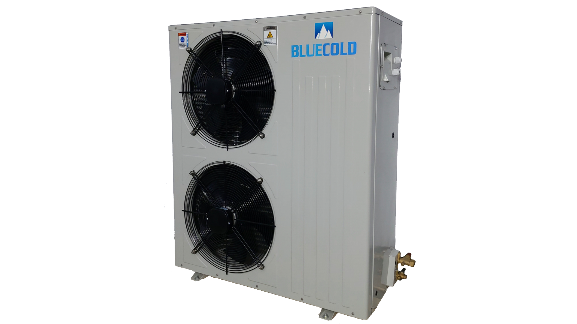 Two fan BCA series condensing unit with Emerson compressor