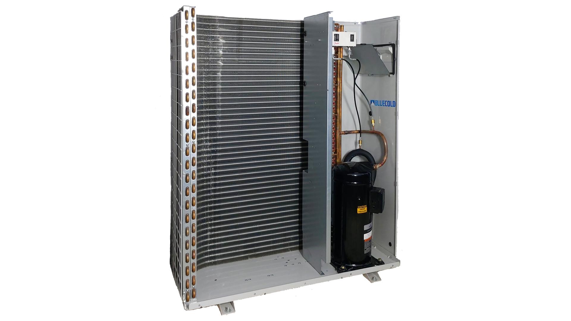 BCA series two fan open condensing unit