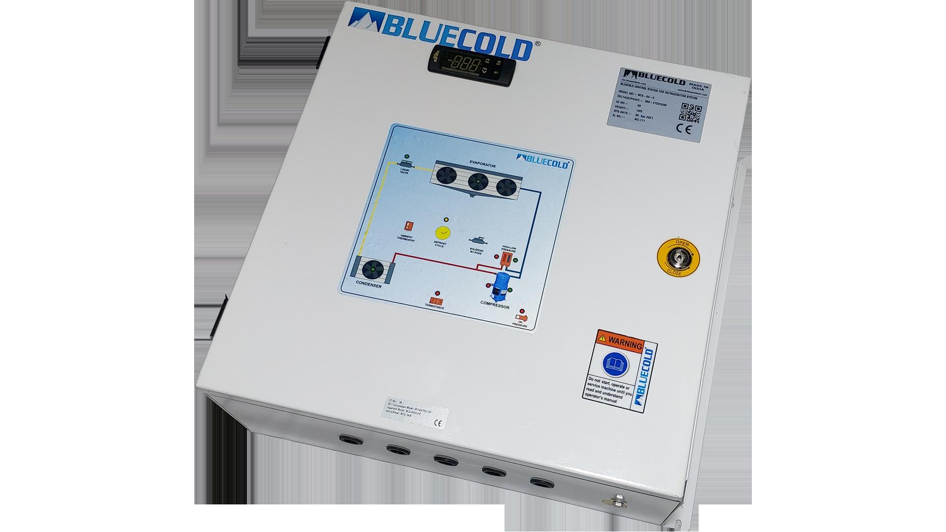 Control panel for danfoss condensing unit