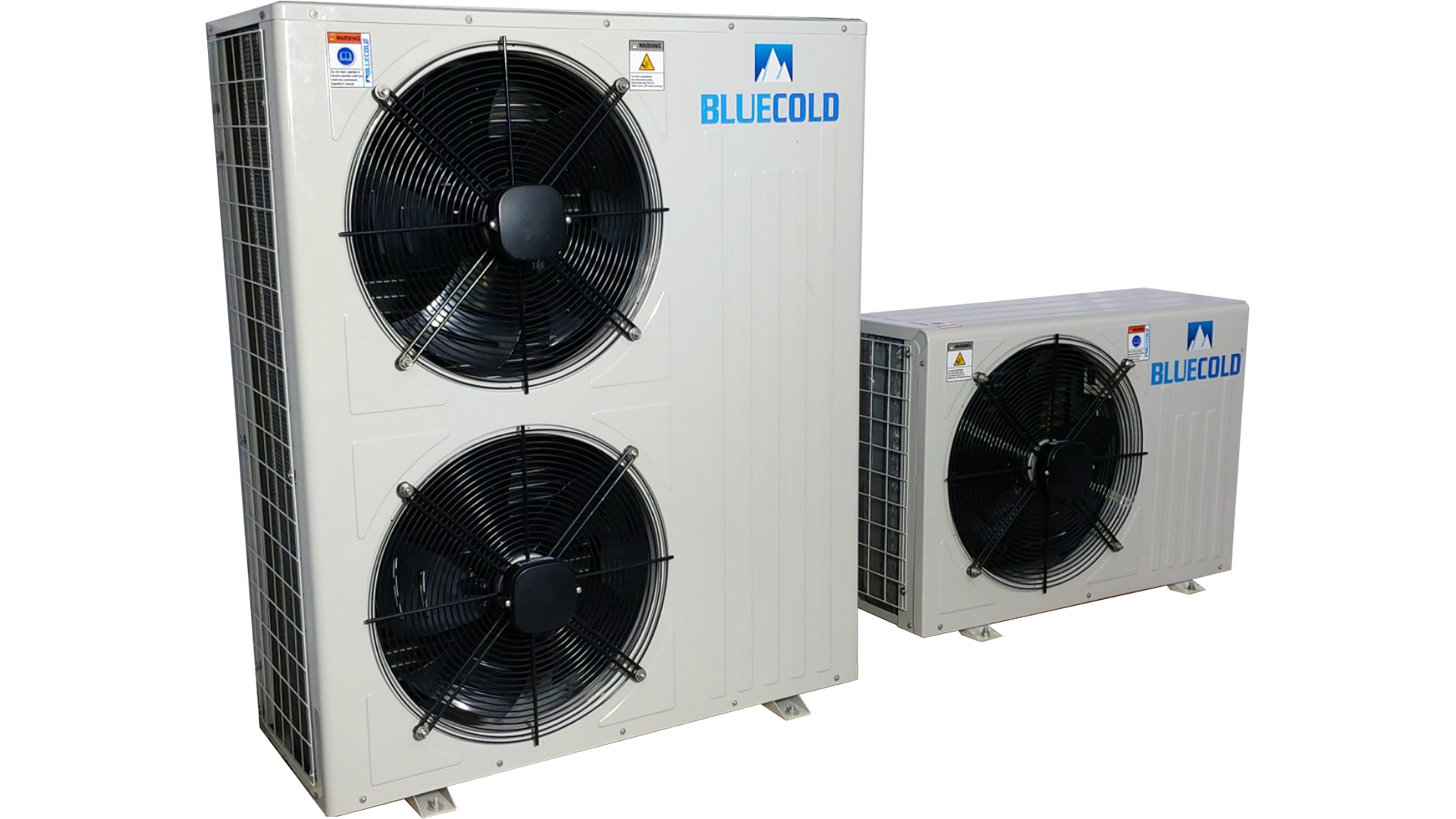 scroll and reciprocating condensing unit for fruits, dairy and banana ripening chamber