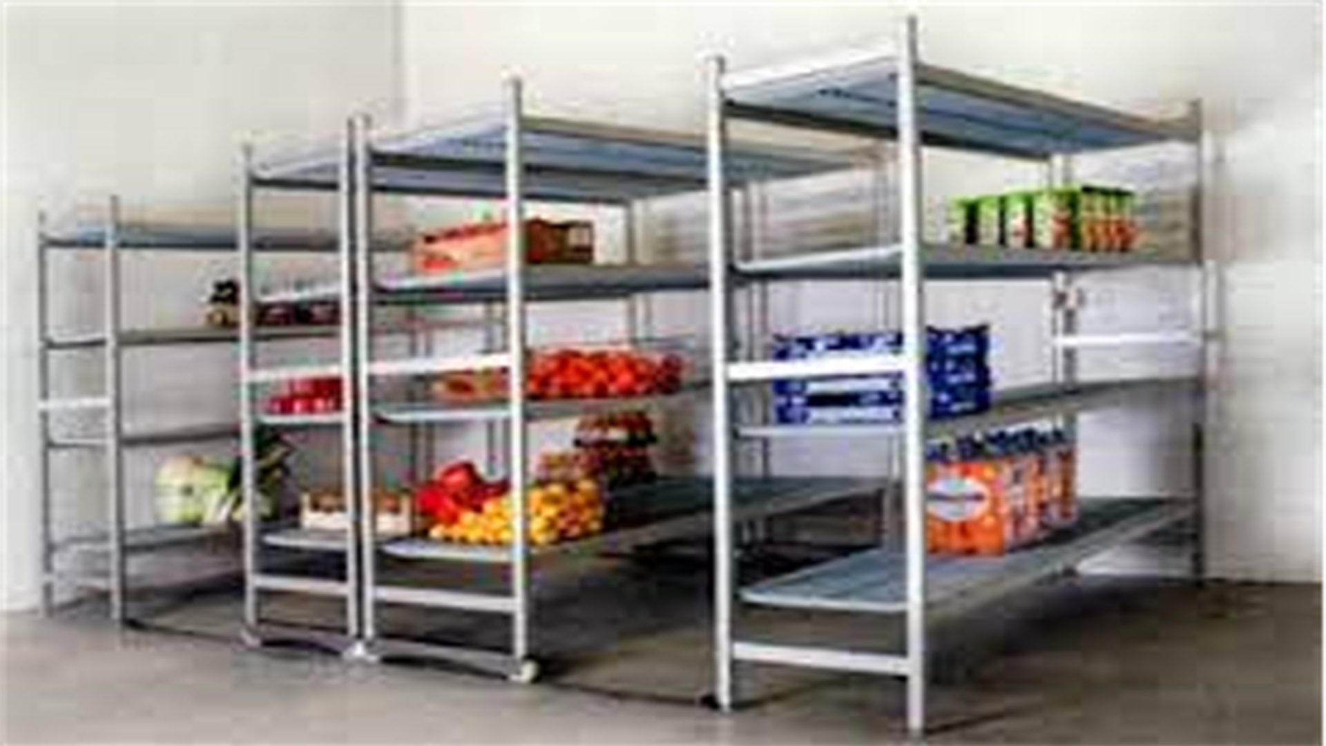 racks for chiller and freezer room