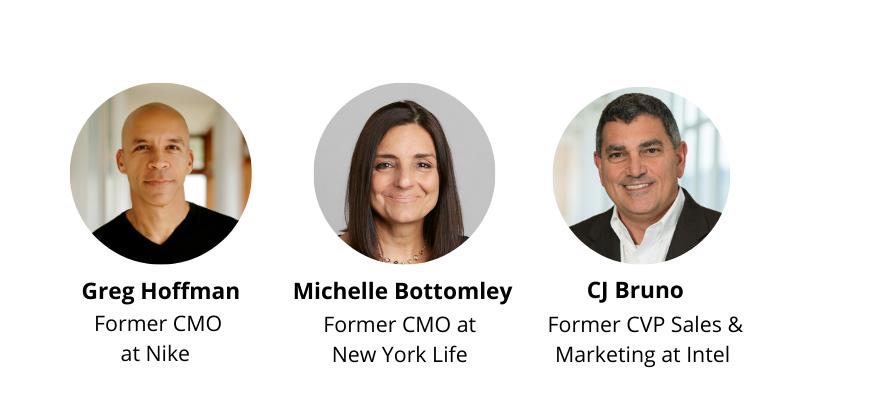 CMo at Nike, CMO at New York Life, CVP at Intel