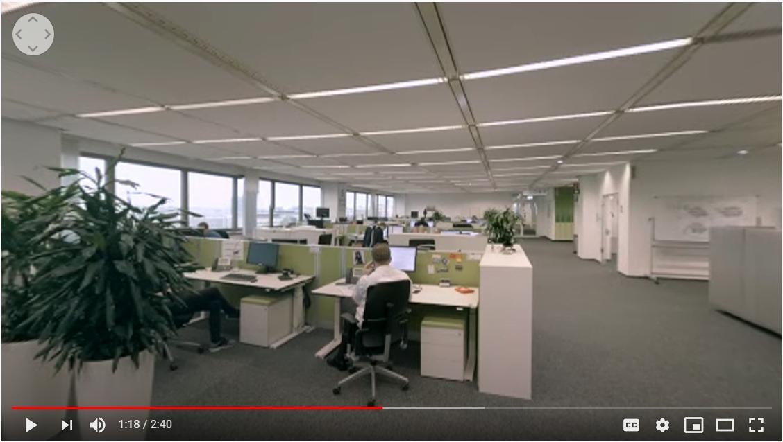 virtueller Rundgang durch Bayers Rechenzentrum