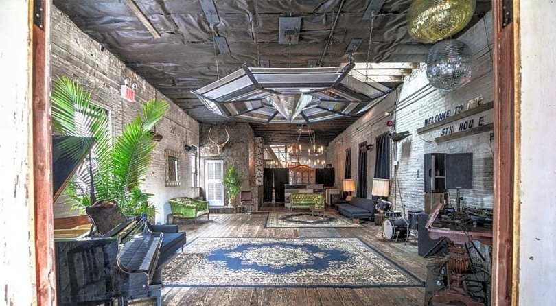 unique vintage loft
