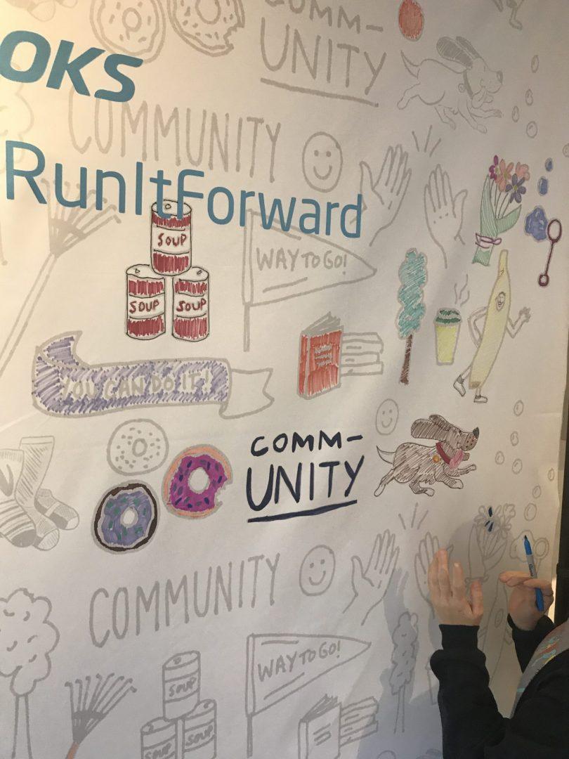 #RunItForward - Brooks running event