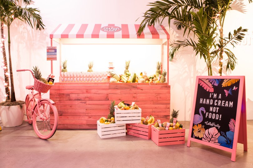 soap and glory pop up