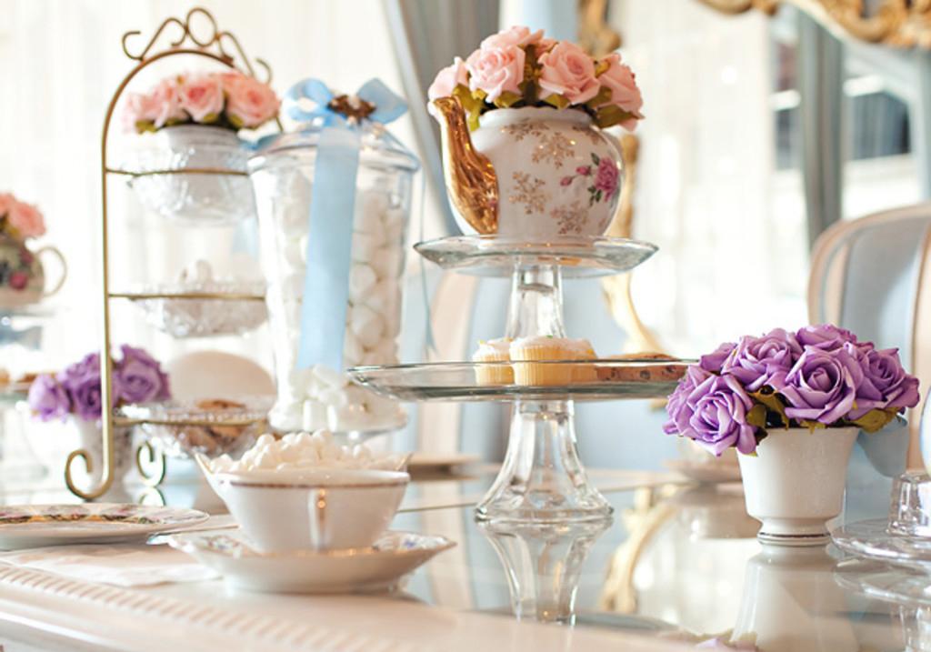 tearoom for wedding receptions