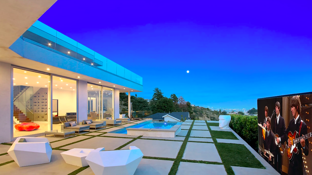 hollywood hills home