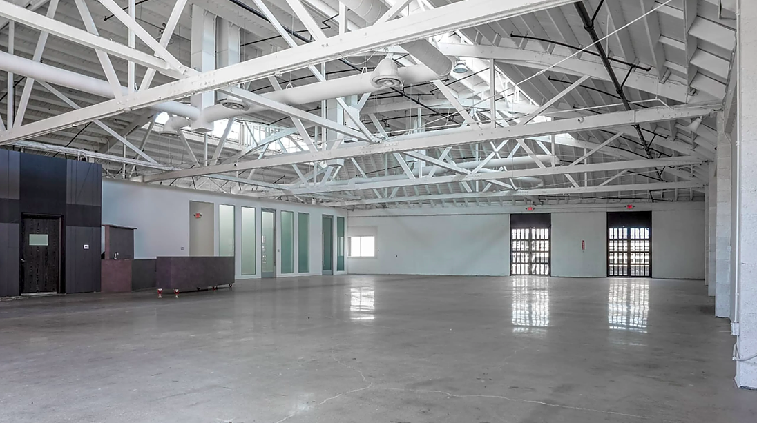 huge warehouse for production