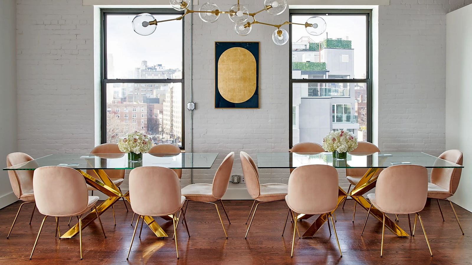 soho penthouse with meeting room