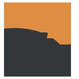 Two tone AH logo