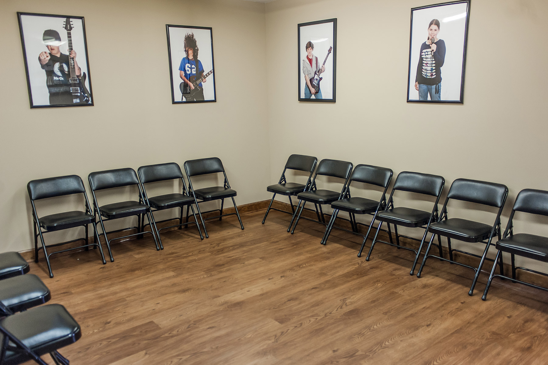 A large, clean & spacious waiting room.