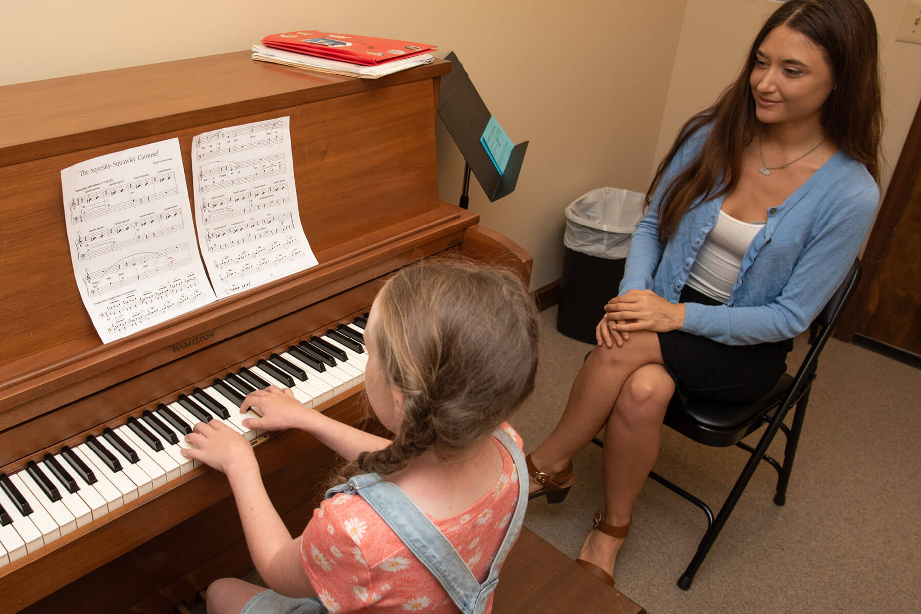 Piano lessons are fun at Lexington School of Music
