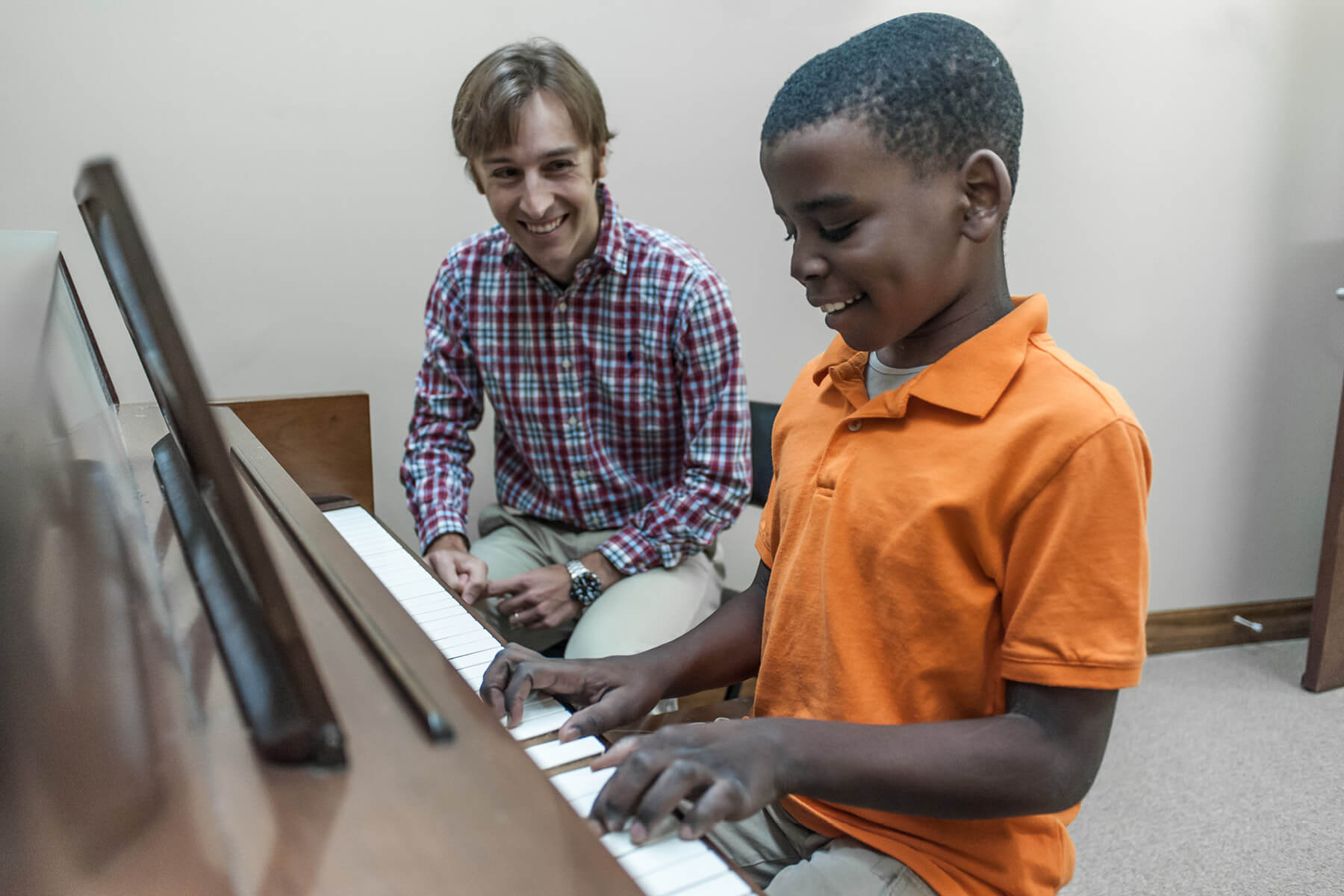Lexington School of Music student learns piano