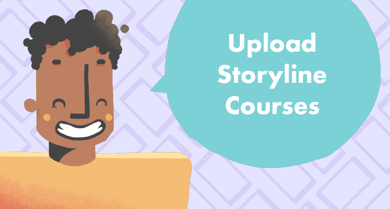 Upload Storyline Courses to the Web tutorial cover photo