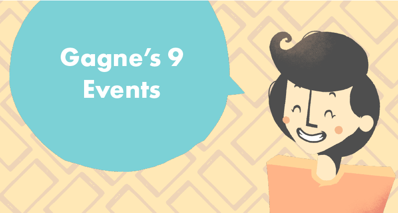 Gagne's 9 Events eLearning cover photo
